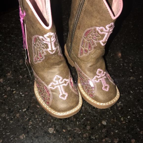 little girls western boots